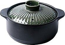 Thenware Pot à soupe en argile pour usage