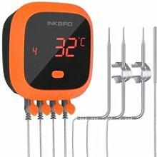 Thermomètre Cuisine Étanche, Bluetooth