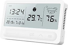 Thermometre et hygrometre a affichage numerique