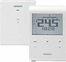 Thermostat ambiance radio à piles : RDE100.1RFS -