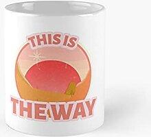 This Is The Way Retro Sunrise Classic Mug   Best