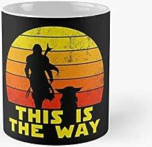 This Is The Way Retro Sunrise Classic Mug - Gift