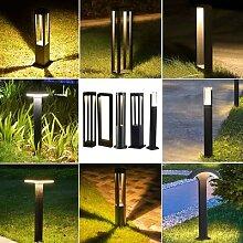 Thrisdar – pilier lumineux en aluminium,