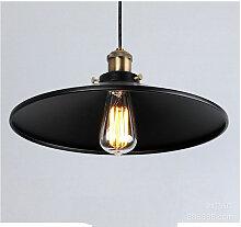 Thsinde - 36 cm E27 lustre industriel rétro