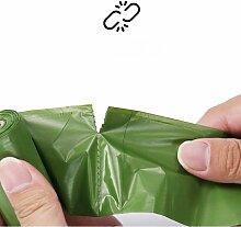 Thsinde - Sac poubelle biodégradable 300 pièces,
