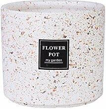 Thwarm Grand Pot d'intérieur en céramique