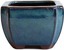 Thwarm Violet Sable Bonsai Pot en céramique