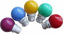 Tibelec 361990 Ampoule de Rechange B22 LED