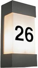 Tide - Eclairage pour numéro de maison Moderne -