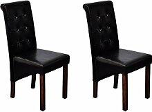 Tidyard Chaise à Manger 2 pcs | Chaises de