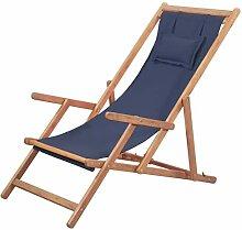 Tidyard Chaise de Plage Pliante (avec 3 Positions