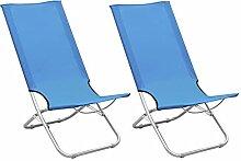 Tidyard Chaises de Plage Pliables Chaise Longue