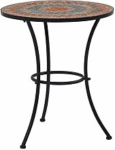 Tidyard Table de Bistro Mosaïque | Table de