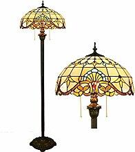 Tiffany Style Lampadaire sur Pied Chambre, Base De