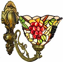 Tiffany style Lampe de table,Vintage Pastoral