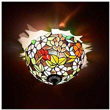 Tiffany Style Lampes de plafond 12 Pouces Rétro