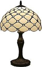 Tiffany Style Table Lampe, Perle De Perles en