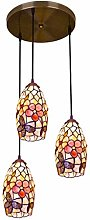 Tiffany Style Vintage Shell Design Lampes