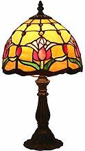 Tiffany Table Lampe Vintage Pastorale Lampe De
