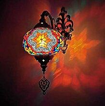 TIFFANYE STYLE MOSAIC WALL SCONCE Lampe Main