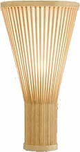Timagebreze Bambou Osier Rotin Ventilateur
