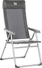 Timber Ridge Chaise de Jardin Pliante en Aluminium