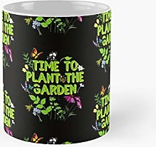 Time To Plant The Garden Design Classic Mug