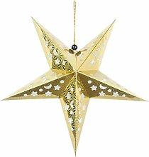 Tinksky Étoile de Noël en papier pour
