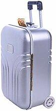 Tirelire créative valise, mini petite tirelire à
