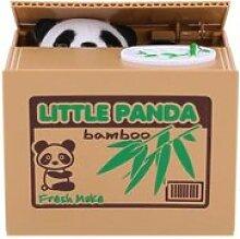 Tirelire de panda: panda vole automatiquement les