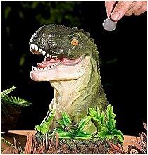Tirelire Garçon Cadeau Réaliste Dinosaure