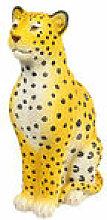 Tirelire Léopard / H 29 cm - & klevering jaune en