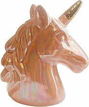 Tirelire, Nouveauté Unicorn Tirelire argent