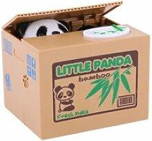 Tirelire Panda Banque d'Argent Automatique