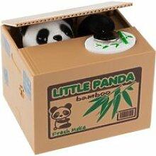 Tirelire panda panda volent l'argent boîte