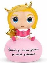 Tirelire Princesse - Isabelle Kessedjian