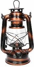 Tissting Lampe à Huile Rétro Lampe à Pétrole