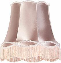Tissu Abat-jour en soie rose 45 cm - Granny Qazqa