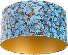 Tissu Abat-jour velours papillon Design 50/50/25