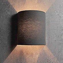 Tissu Applique murale de couleur gris Loft moderne