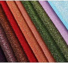 Tissu brillant en polyester métallique,