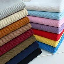 Tissu élastique en coton extra grossier,
