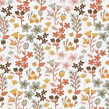 Tissu en coton Cretonne Fleurs filigranes –