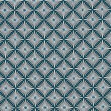 Tissu en coton Cretonne Oriental – pétrole —