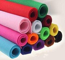 Tissu en feutre épais de 2 Mm, bricolage, feutre