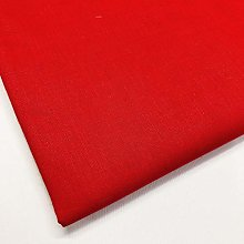 Tissu uni 100 % coton, 150 cm de large, 150 g/m²