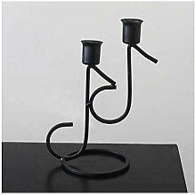 Titulaires de chandeliers Porte-bougie d'art