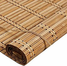 TLMY Rideau en Bambou à Volets roulants,
