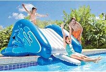 Toboggan gonflable pour piscine enterrée - Intex