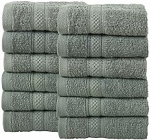 Todd Linens Lot de 12 serviettes de bain en balles